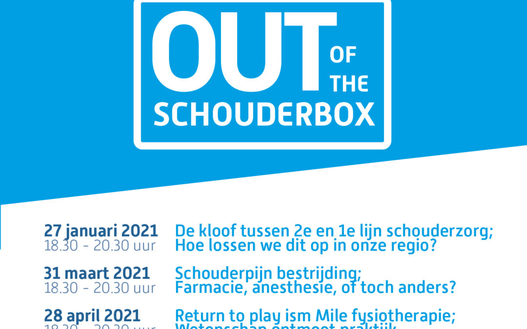 "Schouder Vier- Luik ""Out of the shoulder box"""